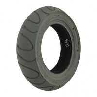 New 3.00-6 Grey Solid Scallop Tyre Tire For A Mobility Scooter