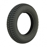 New 3.00-8 Grey Block 38mm Solid Tyre Tire For A Mobility Scooter