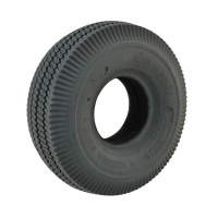 New 4.10/3.50-4 Grey Rib Solid 53mm Tyre Tire For A Mobility Scooter