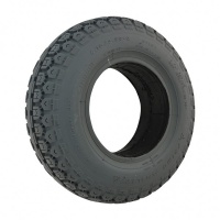 New 4.10/3.50-6 Grey Block 90mm Solid Tyre Tire Pride Mobility Scooter