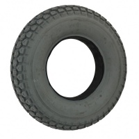 400 X 8 Grey Block Solid Tyre tire For A Mobility Scooter