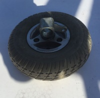 Used 2.80/2.50 x 4 Pneumatic Wheel, Tyre & Fork Mobility Scooter - K57