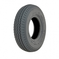New 2.80/2.50-4 Cheng Shin Grey Sawtooth Pneumatic Tyre For A Scooter