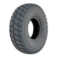 New 3.00-4 260x85 Grey Duratrap Pneumatic Tyre For A Mobility Scooter