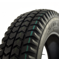 New 3.00-8 Black Pneumatic Tyre Tire For A Mobility Scooter
