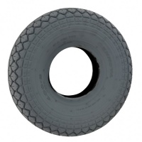 New 330x100 (4.00-5) Grey Pneumatic Tyre Tire For A Mobility Scooter