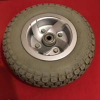 Used 410/350 x 5 Front Cheng Shin Pneumatic Wheel For A Freerider Mobility Scooter T869