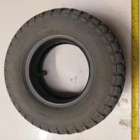 Used 4.10-3.50 x 5 Pneumatic Tyre For A Mobility Scooter S1847