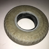 Used 4.10-3.50 x 5 Pneumatic Tyre For A Mobility Scooter T698