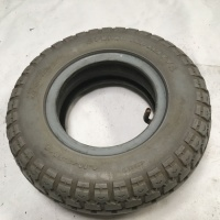 Used 4.10-3.50 x 6 Pneumatic Tube & Tyre For A Mobility Scooter V15