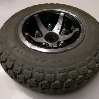 Used 410/350 x 6 Rear Pr1mo Duratrap Pneumatic Wheel/Tyre For A Mobility Scooter - S1488