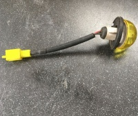 Used Yellow Indicator Blinker Lens Shoprider Mobility Scooter V975