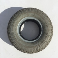 Used 4.10-3.50 x 5 Pneumatic Tyre For A Mobility Scooter K16