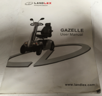 Used Owners Manual For A Landlex Mobility Scooter V005